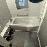 カビだらけの浴室の清掃(杉並区)