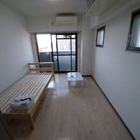 ワンルームの居室の清掃(中野区)