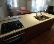 キッチンの鏡面研磨とコーティング(渋谷区)